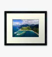 The North Shore of Kauai Framed Print
