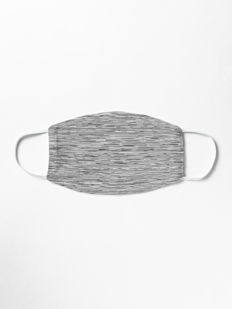 Alternate view of Modern Neutral Gray Lines Mask