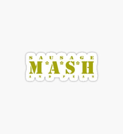 M * A * S * H Sticker