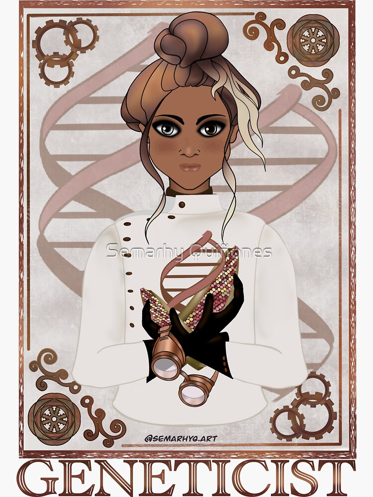 Geneticist (STEAMpunk Art) by semarhy