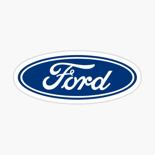 Ford Apparel Sticker