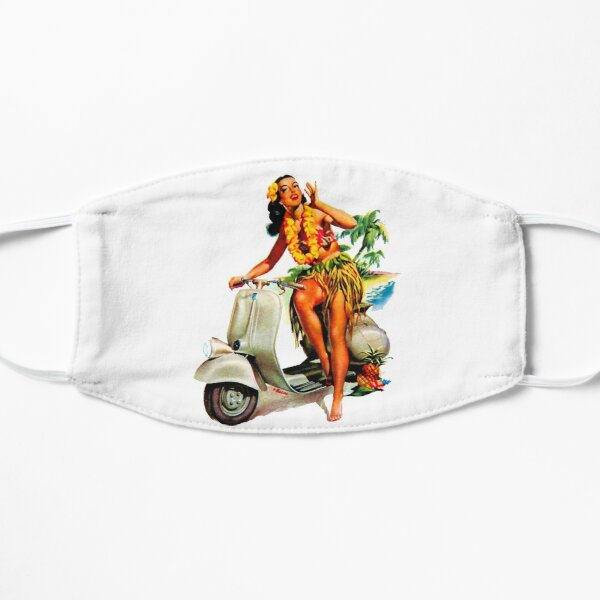 Scooter Girl Aloha Mask