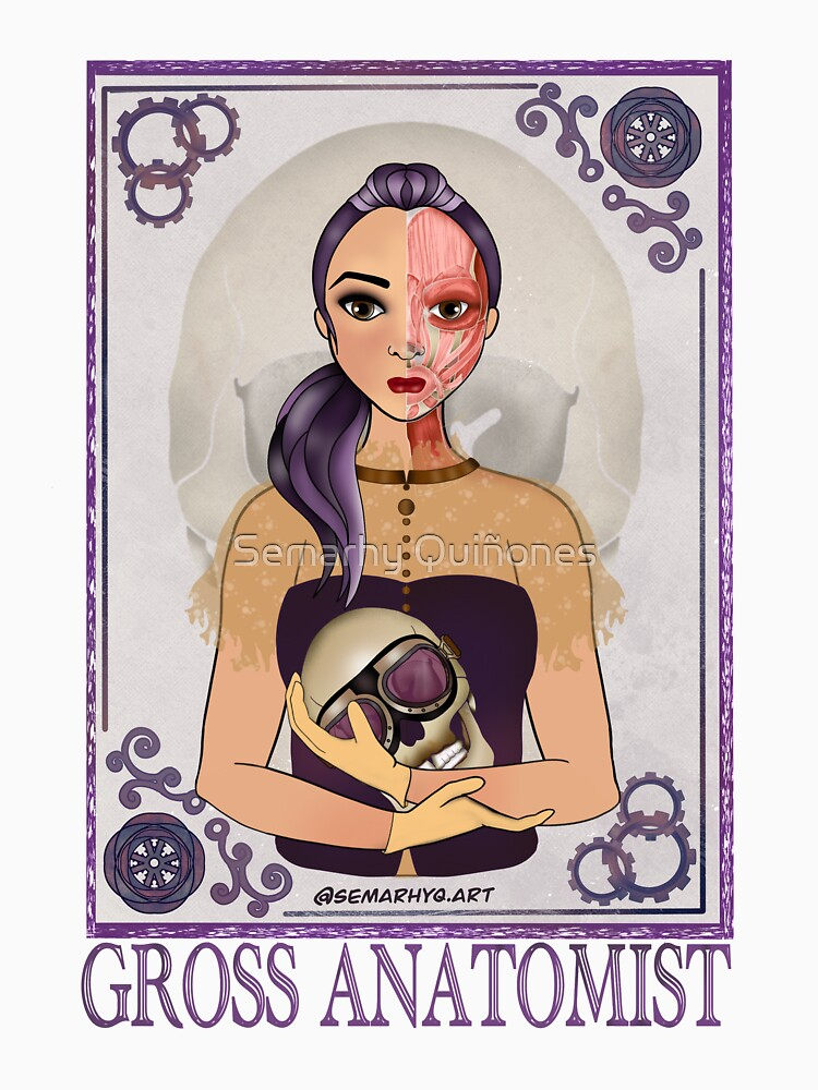 Gross Anatomist (STEAMpunk Art) by semarhy