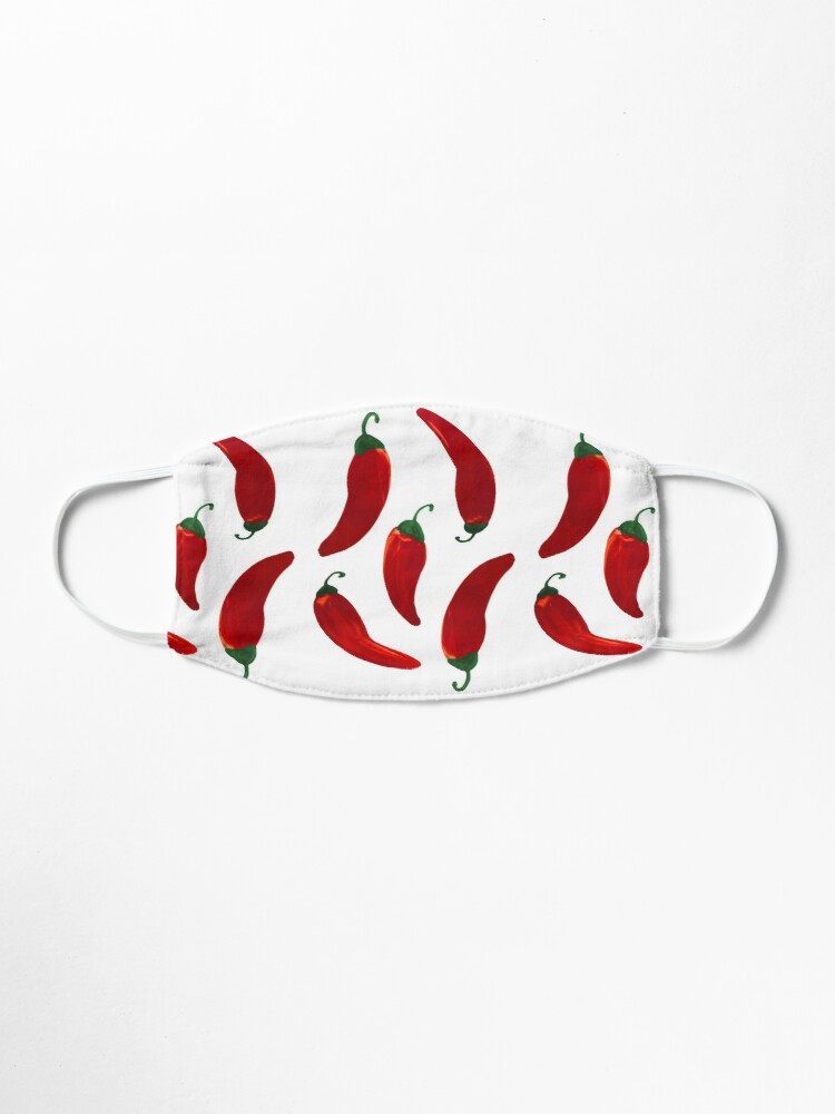 Drawstring Backpack Chilli Hot Pepper Rucksack