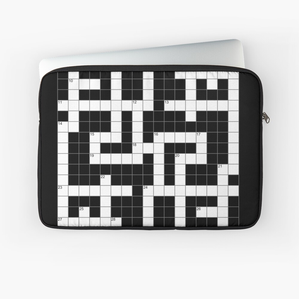 Crossword Clue Product Crossword Clue Gift Crossword Clue Lover Crossword Lover Gift Crossword Puzzle Expert I Love Crosswords Profit Goes To Donation Laptop Sleeve By Kamalazl Redbubble