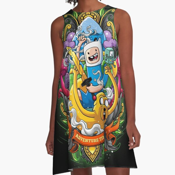 Adventure Time A-Line Dress