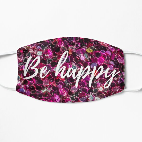 Be Happy face mask Unisex Washable Reusable Face & Mouth Mask