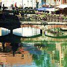 Annecy Canal Bridge by jlv-