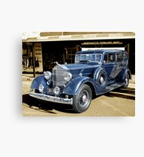 1934 Packard 1102 seven-passenger Sedan Canvas Print