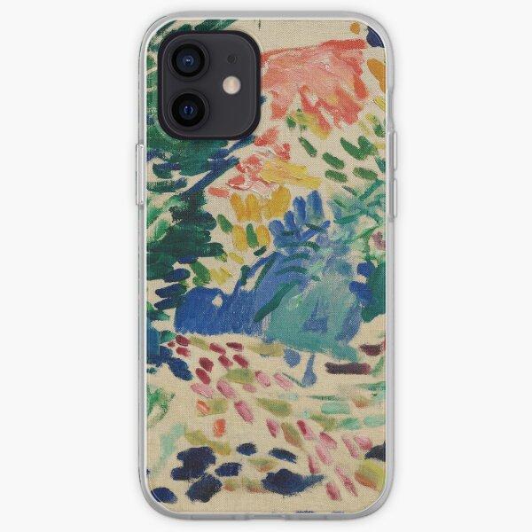 Henri Matisse - Landscape At Collioure - Exhibition Poster iPhone Soft Case