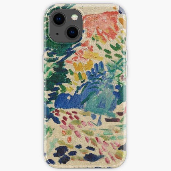 Henri Matisse - Landschaft bei Collioure - Ausstellungsplakat iPhone Flexible Hülle