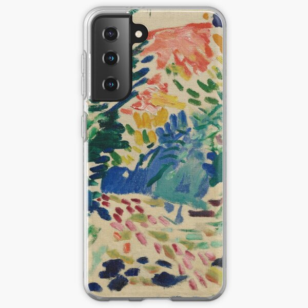 Henri Matisse - Landscape At Collioure - Exhibition Poster Samsung Galaxy Soft Case