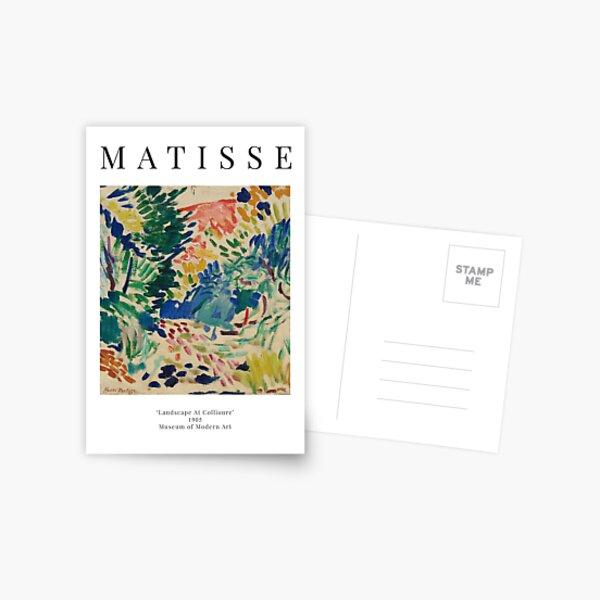 Henri Matisse - Landscape At Collioure - Exhibition Poster Postcard