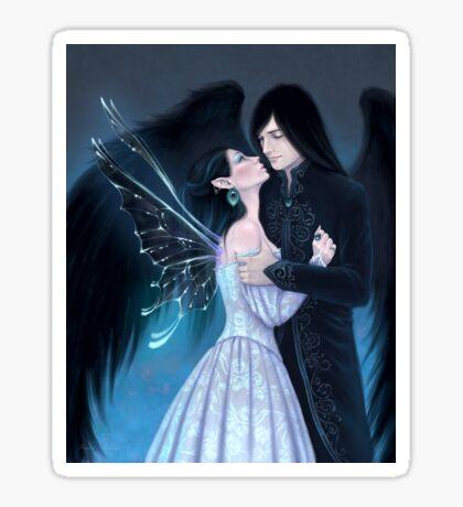 Sapphire Fairy Romance Sticker