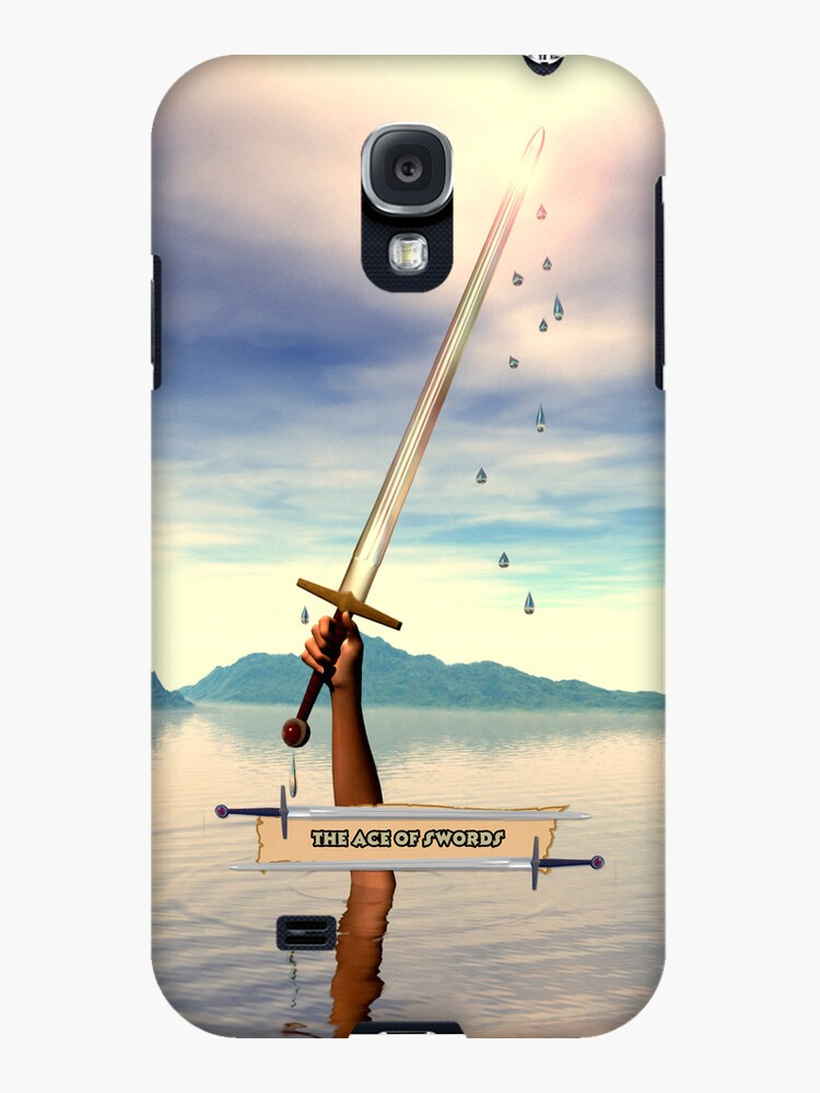 The Ace of Swords iPhone Case by John Edwards