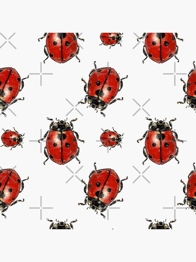 Ladybug pattern by ebozzastudio