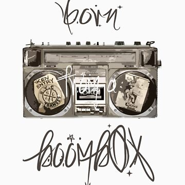 Born from A Boombox by Prince92
