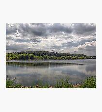 Cool Lake Photographic Print