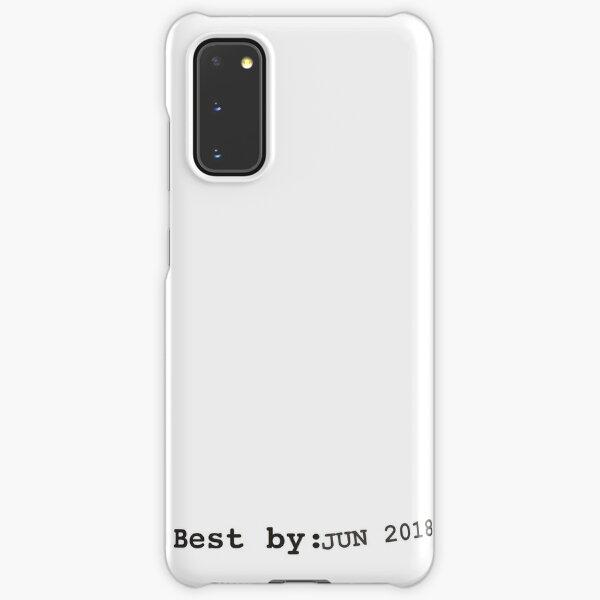 Best by june 2018 Samsung Galaxy Snap Case