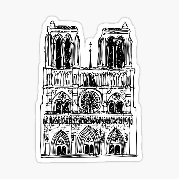 Notre Dame Paris Sticker