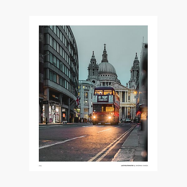 Last RouteMaster Photographic Print