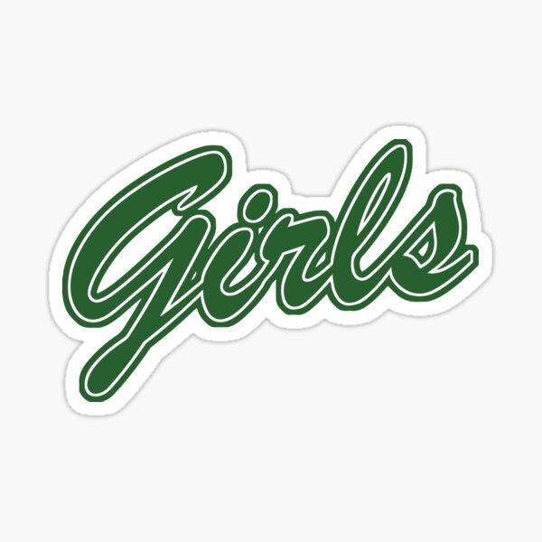 Chicas (verde) Pegatina