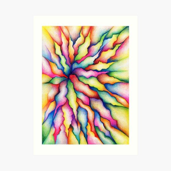 Flor de la mañana Lámina artística
