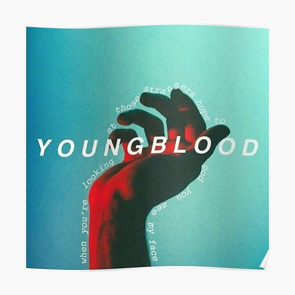 YOUNGBLOOD . seconds of summer . summer Poster