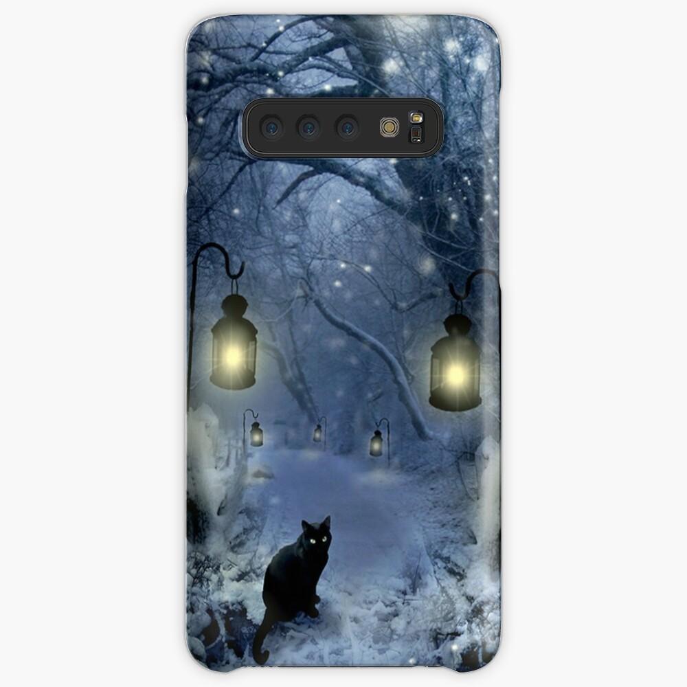 Crepúsculo de invierno Funda y vinilo para Samsung Galaxy