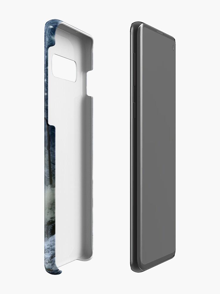 Vista alternativa de Funda y vinilo para Samsung Galaxy Crepúsculo de invierno