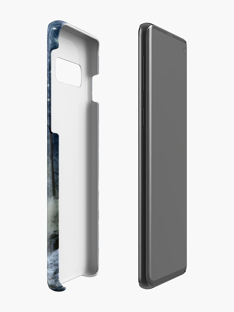 Alternate view of Winter Twilight  Case & Skin for Samsung Galaxy