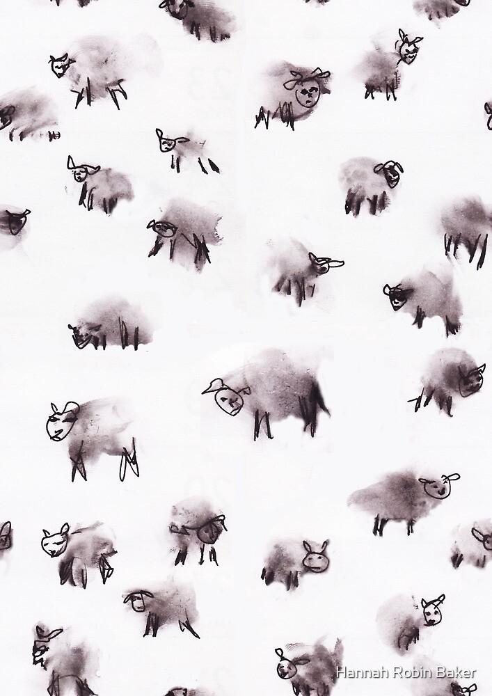 Moody Sheep by Hannah Robin Baker