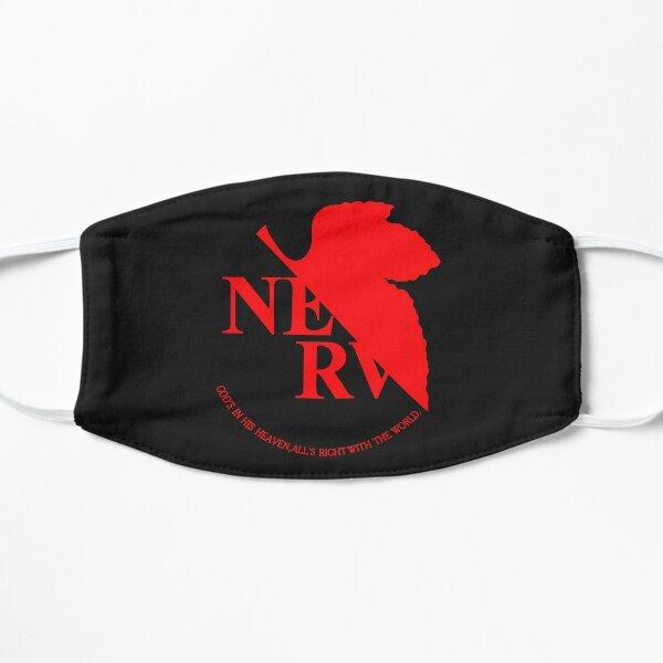 NERV Logo Flat Mask