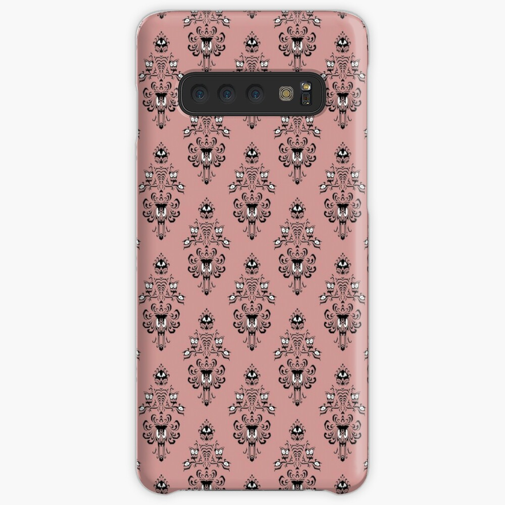 Haunted Mansion Wallpaper Rose Tan Case Skin For Samsung Galaxy By Fandomtrading Redbubble
