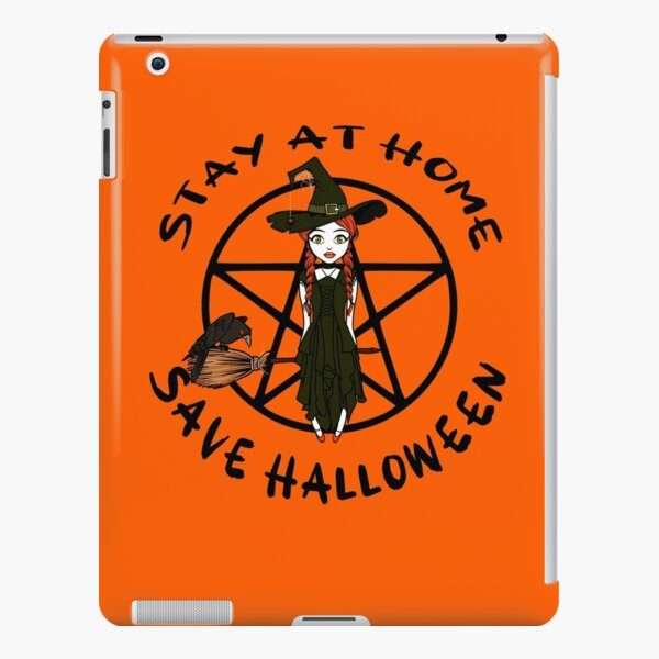 Stay At Home Save Halloween Cheeky Witch® iPad Snap Case