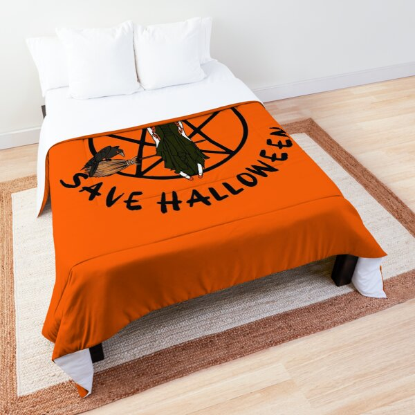 Stay At Home Save Halloween Cheeky Witch® Comforter