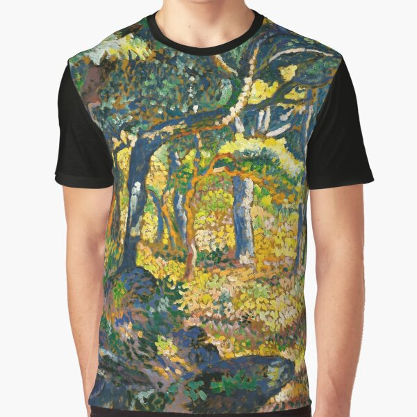 "Henri-Edmond Cross ""Clearing in Provence (study for ""The Clearing"")"" Graphic T-Shirt"