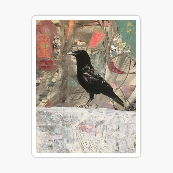 good morning mr crow Sticker