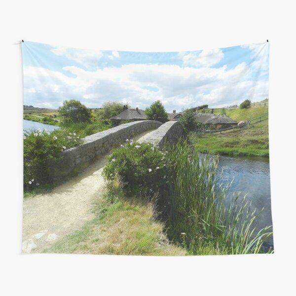 Bridge to the Green Dragon Inn Tapestry