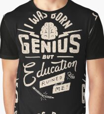 Born Genius Graphic T-Shirt