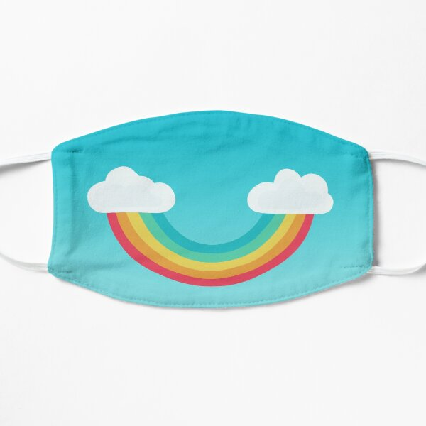 Rainbow Smile Mask