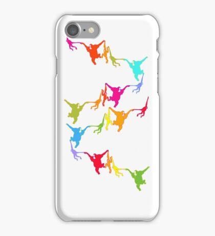 Rainbow Monkeys iPhone Case/Skin
