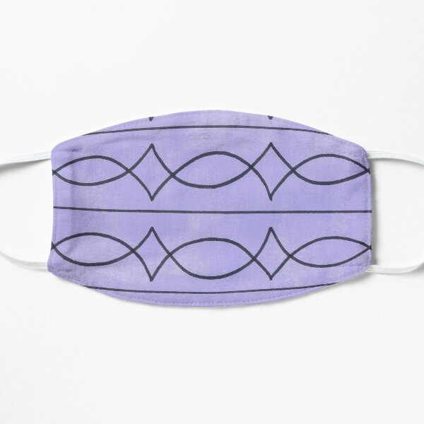 Metalwork and Lavender Mask