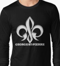 Georges St-Pierre Mixed Martial Arts GSP MMA UFC Champions Long Sleeve T-Shirt