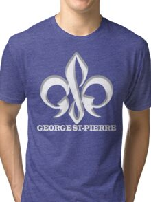 Georges St-Pierre Mixed Martial Arts GSP MMA UFC Champions Tri-blend T-Shirt