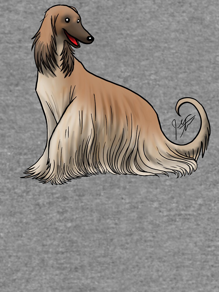 Afghan Hound - Red by jameson9101322
