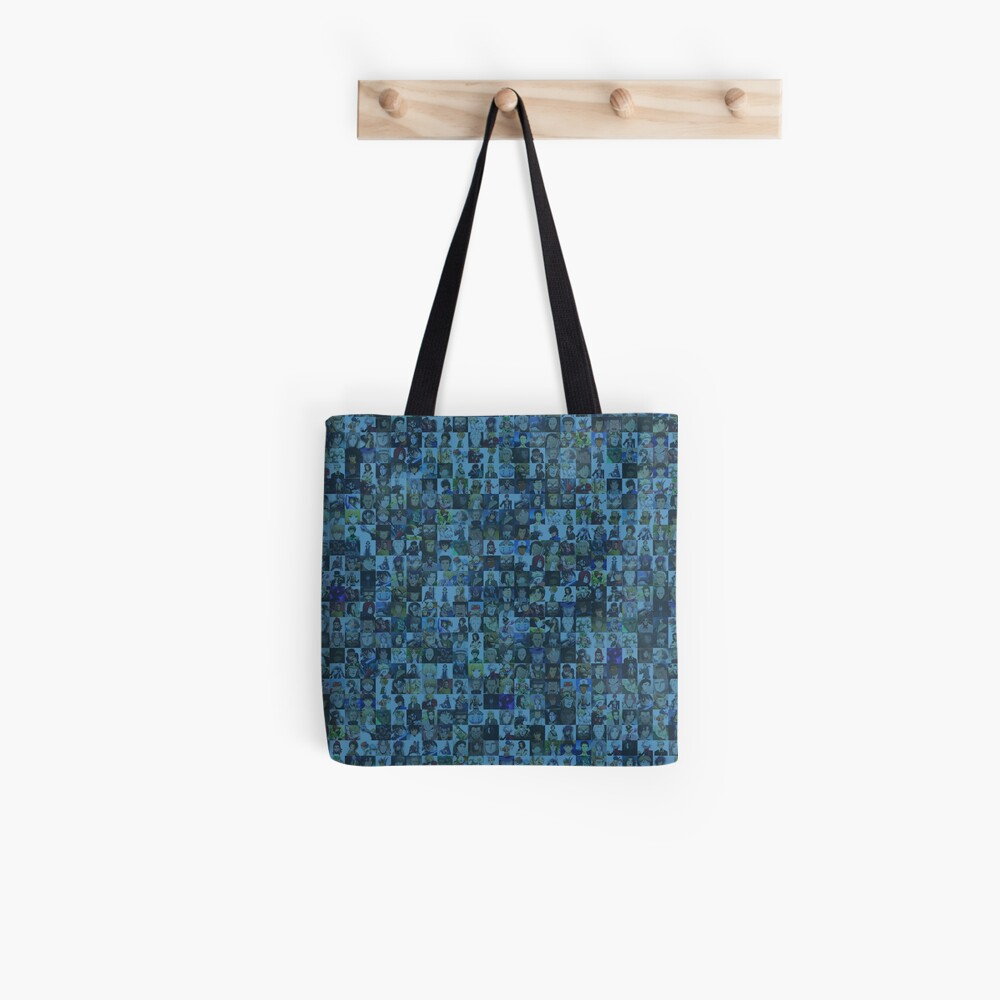 One Man, Many Voices Tote Bag
