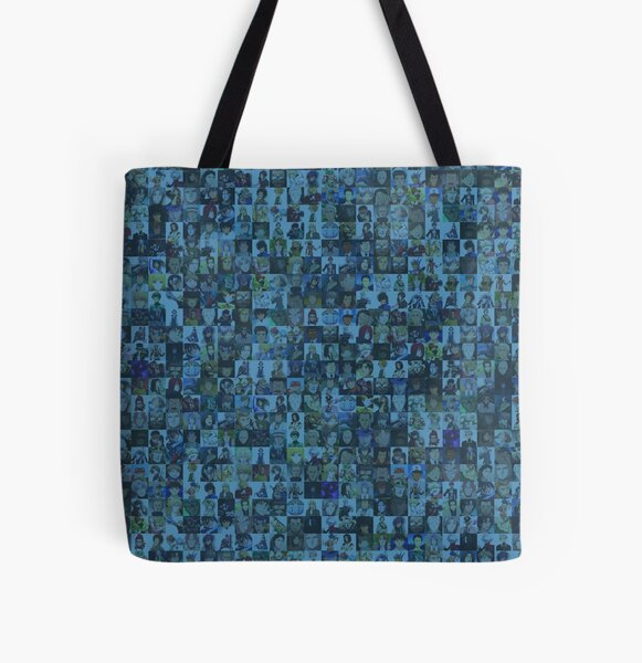 One Man, Many Voices All Over Print Tote Bag