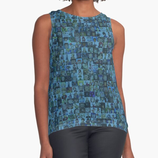 One Man, Many Voices Sleeveless Top