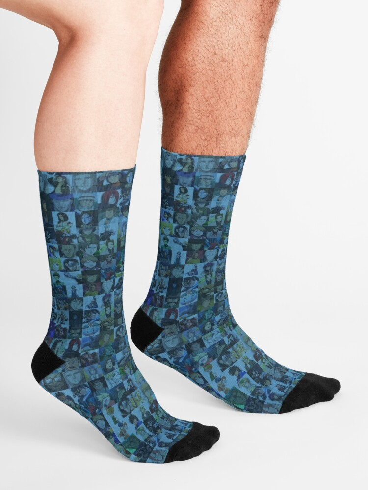 Alternate view of One Man, Many Voices Socks